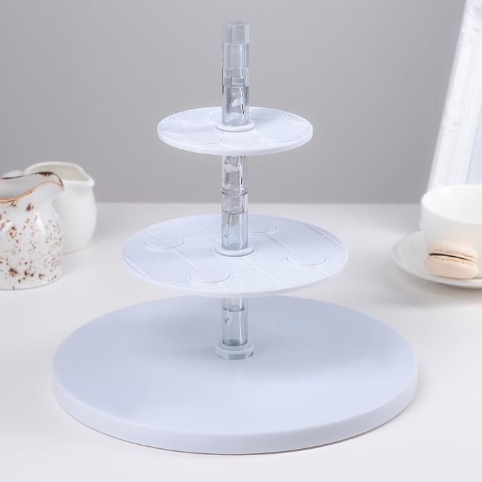 Подставка для торта и 3D декорирования Tiers & Spheres Kit 25x15 см