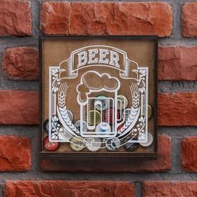 """Piggy Bank for beer caps """"Beer"""""""