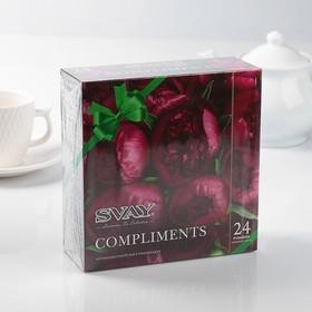 Чайное ассорти Svay Compliments Peonies, 24 пирамидки