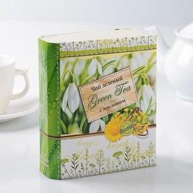 """Чай зеленый Книга """" Времена года"""" с жасмином, 125 г"""
