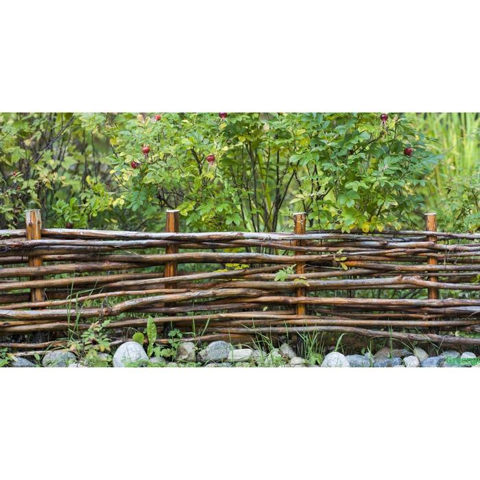 Фотобаннер, 300 × 160 см, с фотопечатью, «Плетёнка»