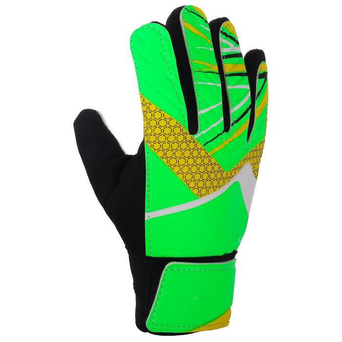 Перчатки вратарские, размер 7, цвет салатовый - фото 724704946