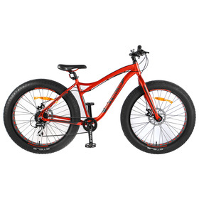 "Велосипед 26"" Stels Aggressor MD, V010, цвет красный/серый, размер 18"""