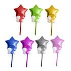 """Букет из шаров """"Звезда в шариках"""", латекс, фольга, мишура, набор 9 шт., цвета МИКС"""