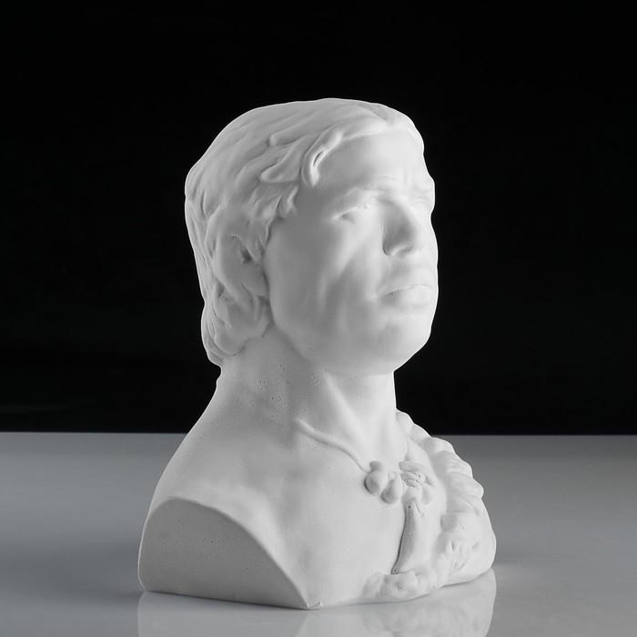 Гипсовая фигура, Бюст кроманьонца «Мастерская Экорше», 17х14.5х22.5 см