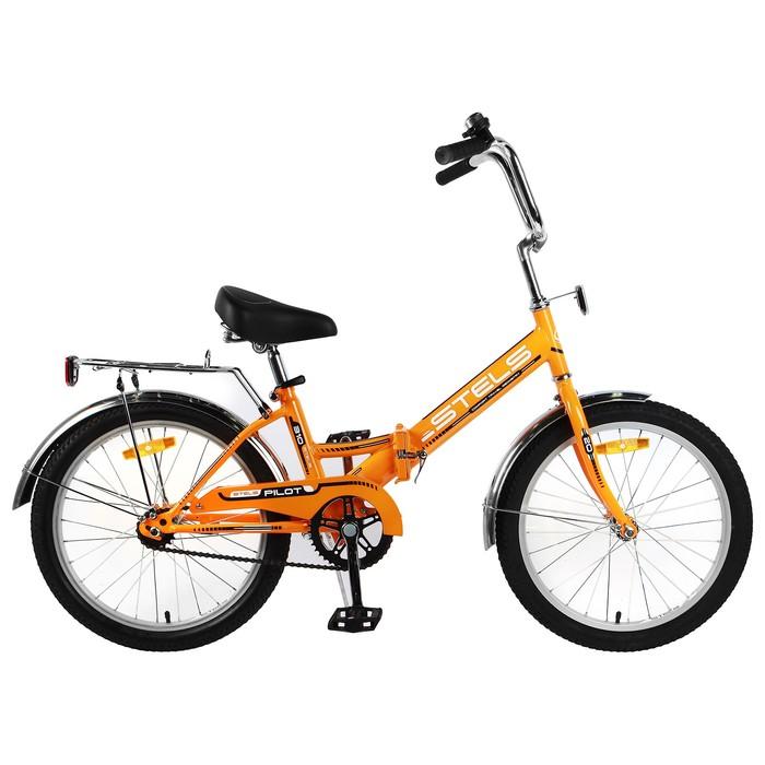"""Велосипед 20"""" Stels Pilot-310, Z011, цвет оранжевый, размер 13"""""""