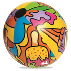 Мяч надувной «Поп-арт», от 3 лет