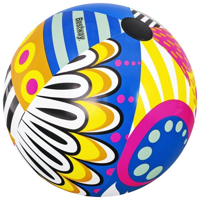 Мяч надувной «Поп-арт», от 3 лет, d=91 см, 31044 Bestway