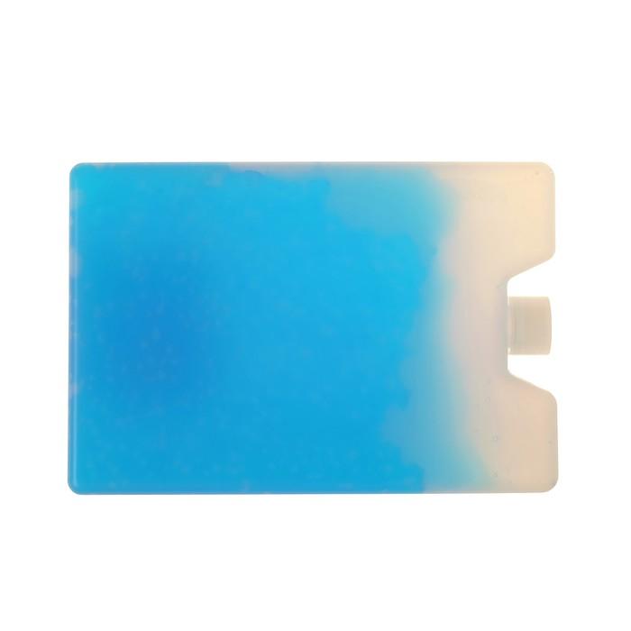 Аккумулятор холода, 200 мл, синий 15×10×2 см
