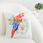 Подушка декоративная Этель «Попугай», 30 × 30 см, 100%-ный п/э