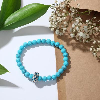 """Bracelet ball No. 6 """"new Turquoise"""" with sharecom"""