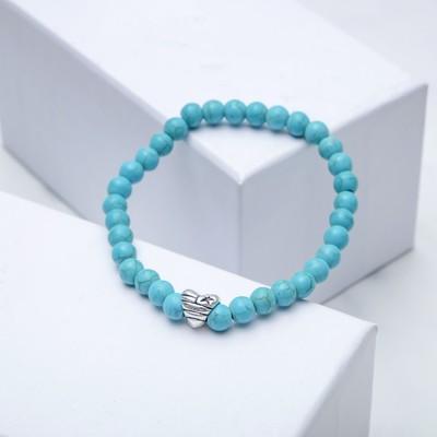 "Bracelet ball No. 6 ""Turquoise star"" with sharecom"