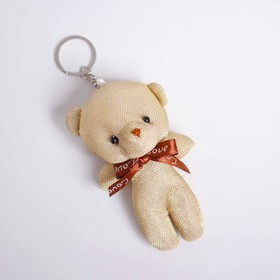 """Soft toy-suspension """"Bear bow"""" MIX color"""