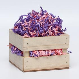 "Filler paper ""For her,"" mix pink purple, 100 g"