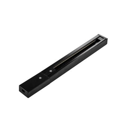 Шинопровод TRACK ACCESSORIES, 1m, IP20, цвет чёрный