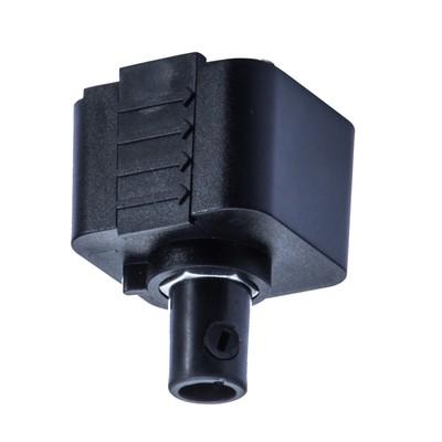 Коннектор питания TRACK ACCESSORIES, IP20, цвет чёрный