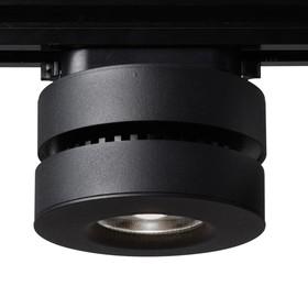 Светильник Siesta, 12Вт, LED, IP20, цвет чёрный