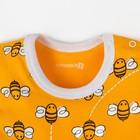 """Песочник Крошка Я """"Love & honey"""", жёлтый, р. 24, рост 68-74 см - фото 105478621"""