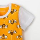 """Песочник Крошка Я """"Love & honey"""", жёлтый, р. 24, рост 68-74 см - фото 105478622"""