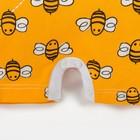 """Песочник Крошка Я """"Love & honey"""", жёлтый, р. 24, рост 68-74 см - фото 105478623"""