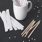 Набор палочек для мороженого/кофе, 14х0,6 см, в индивидуальной упаковке, 50 шт