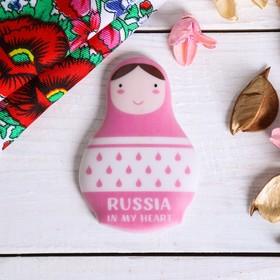 """Magnet """"Pink dolls"""", a 7.7*5.4 cm"""