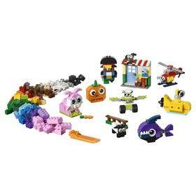 Конструктор Lego «Криэйтор: Кубики и глазки», 451 деталь