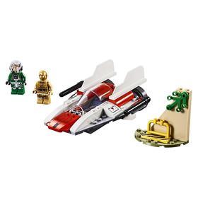 Конструктор Lego «Звёздные войны: Звёздный истребитель типа А», 62 детали