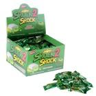 Жевательная резинка Shock 2 Shock Зелёное яблоко, с жидким центром, 4 г