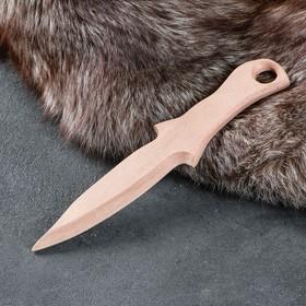 """Сувенир деревянный """"Нож"""", 29 х 6 см, массив бука"""