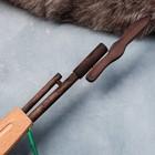 """Сувенирное деревянное оружие """"Автомат боевой"""", 60 х 15 см, массив бука - фото 105640857"""
