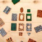Обучающий набор «Карточки Сегена. Звериный окрас», 18 карточек, материал EVA, по методике Монтессори - фото 105495484