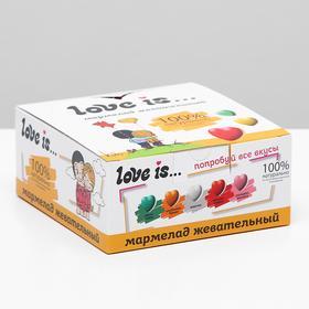 Мармелад Love Is «ЖуйМиксик», холодок-малина, 25 г