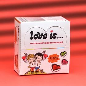"""Мармелад Love Is """"ЖуйМиксик"""", вишня-лимон, 25 г"""
