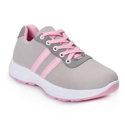 Кроссовки женские 640 MINAKU, серый/розовый, размер 38