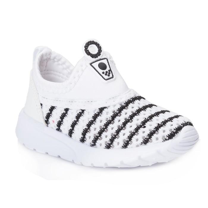 Кроссовки детские 430 MINAKU, белый-черный, размер 22