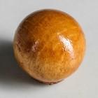 """Ручка мебельная """"Круглая"""", тип 2, цвет итальянский орех, d-30, L-30 мм"""