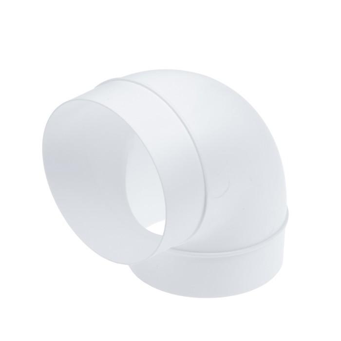 Отвод TUNDRA, для круглого вентиляционного канала, d=100 мм
