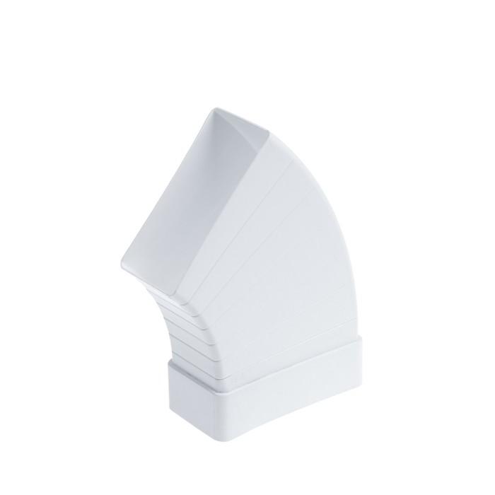 Отвод TUNDRA, для прямоугольного вентиляционного канала, разноугловой, 110 х 55 мм