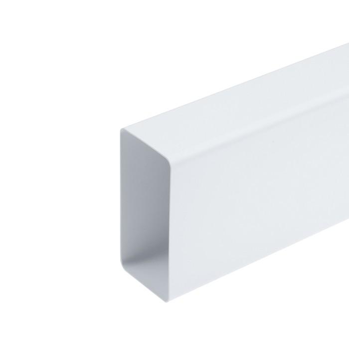 Канал вентиляционный TUNDRA, прямоугольный, 110 х 55 мм, 0.5 м