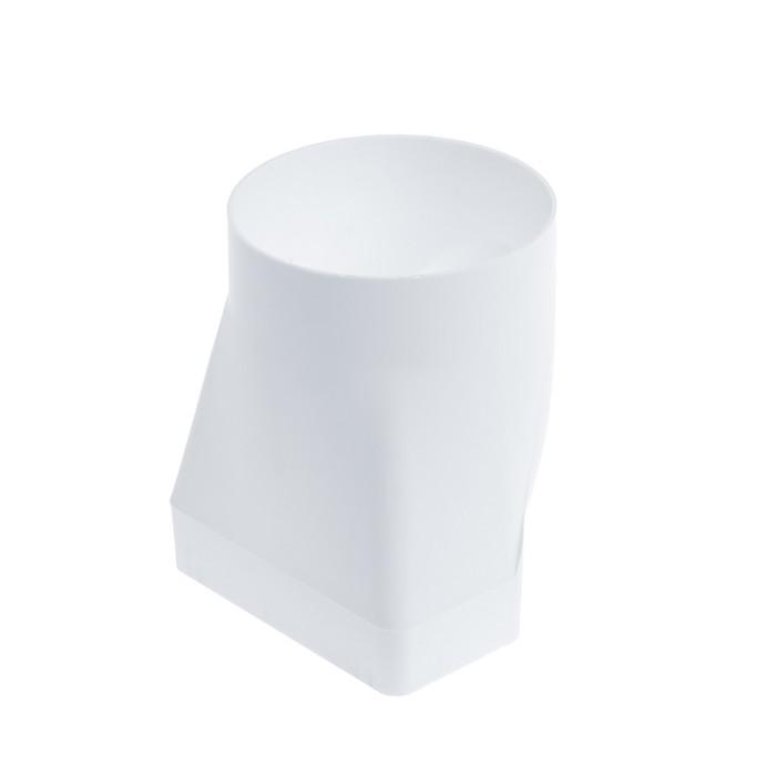 Соединитель TUNDRA, для прямоугольного и круглого канала, 110 х 55 х 100 мм