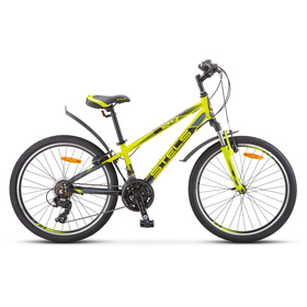 "Велосипед 24"" Stels Navigator-440, V030, цвет лайм, размер 13"""