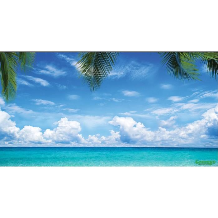Фотобаннер, 250 × 150 см, с фотопечатью, «Море»
