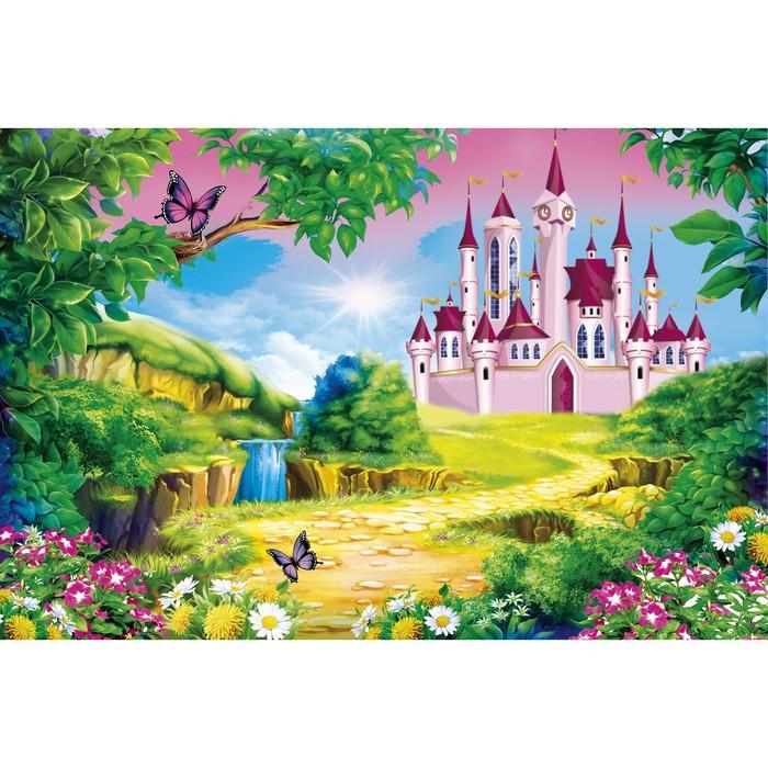 Фотобаннер, 250 × 200 см, с фотопечатью, «Сказочный замок»