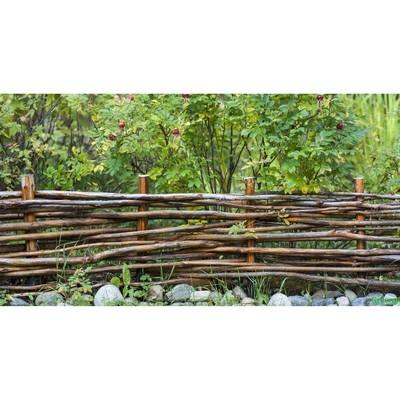 Фотобаннер, 250 × 150 см, с фотопечатью, «Плетёнка»