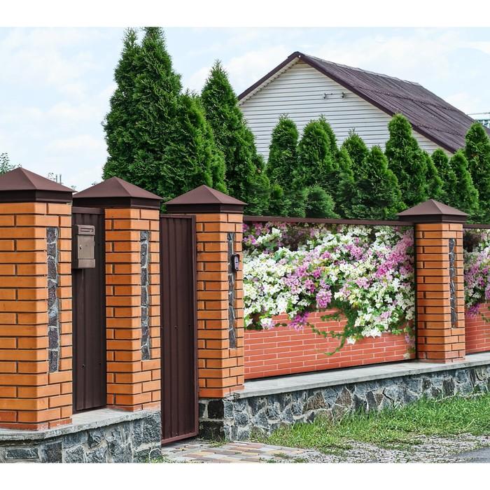 Фотобаннер, 300 × 160 см, с фотопечатью, «Весенние цветы»