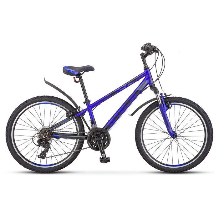 "Велосипед 24"" Stels Navigator-440, V030, цвет синий, размер 13"""