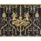 Фотобаннер, 250 × 150 см, с фотопечатью, «Золотые львы»