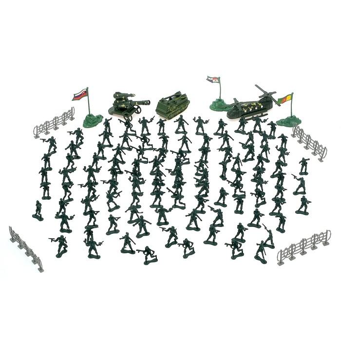 """Набор солдатиков """"Военный"""""""