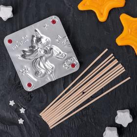 Набор для приготовления леденцов и мармелада «Единорог», цвет МИКС